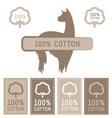 Cotton Set vector image