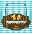 the oktoberfest vector image