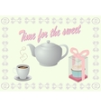 sweet tea vector image