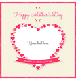 Cards thanks for all that you do Happy mother day vector image
