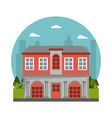 building house real estate architecture vector image