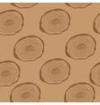 Stump Muzzle Seamless Pattern Background vector image