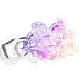 Photo camera sketchy doodles vector image