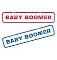Baby Boomer Rubber Stamps vector image
