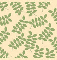 green plants background image vector image