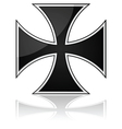 Iron cross vector image