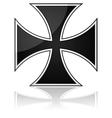 Iron cross vector image