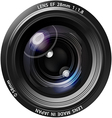 camera lens5 01 vector image