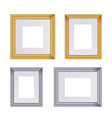 frame set of frames for paintings vector image