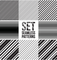 Seamless pattern lines vector image