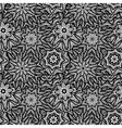 Seamless black white pattern vector image