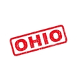 Ohio Rubber Stamp vector image