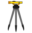 Surveying tool vector image