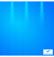 Abstract blue background with grid vector image vector image