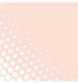 Pink background or decoration with white dots vector image vector image