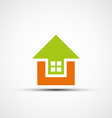 Logo real estate vector image vector image