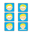 Child Fever icon set vector image