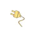 plugs computer symbol vector image