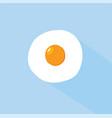 flat egg design vector image
