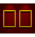 Two lightened frames vector image vector image