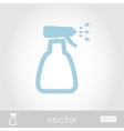 Icon spray bottle atomizer pulverizer sprayer vector image