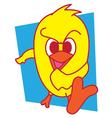 Kick Bird vector image