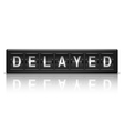 Delayed message vector image