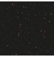 Seamless night sky Stars in night sky vector image