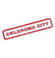 Oklahoma City Rubber Stamp vector image