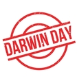 Darwin Day rubber stamp vector image