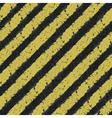 hazard yellow lines vector image