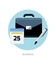 Botton icon business vector image