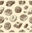 oriental sweets vector image