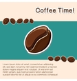 Coffee concept background vector image vector image