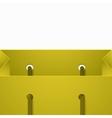 modern shooping bag background vector image vector image