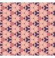Seamless geometric color pattern background vector image