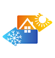 Air conditioning vector image vector image