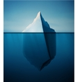 Lonely Iceberg vector image vector image