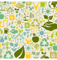 Ecology a background vector image