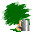 Paint smears vector image vector image