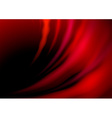 Abstract red hot waves vector image