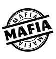 Mafia rubber stamp vector image