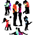 boys and girls vector image