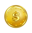 gold coin vector image