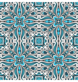 Blue ornament vector image vector image