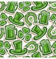 seamless for pattern st patricks day vector image