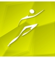 Runner Icon vector image vector image