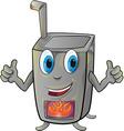 stove cartoon vector image