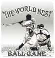 world best ballgame vector image vector image
