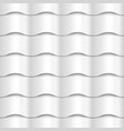 White seamless wavy pattern paper texture vector image vector image